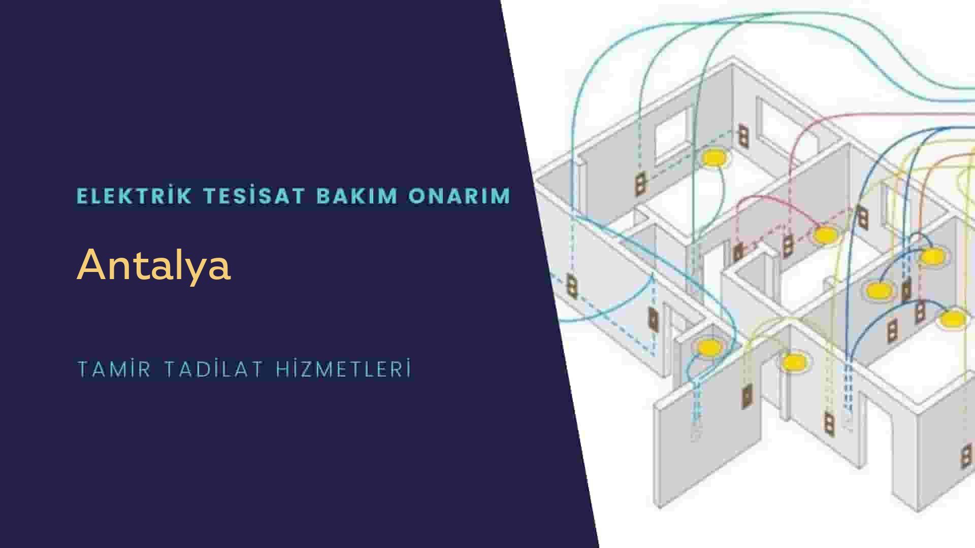 Antalya'da elektrik tesisatıustalarımı arıyorsunuz doğru adrestenizi Antalya elektrik tesisatı ustalarımız 7/24 sizlere hizmet vermekten mutluluk duyar.
