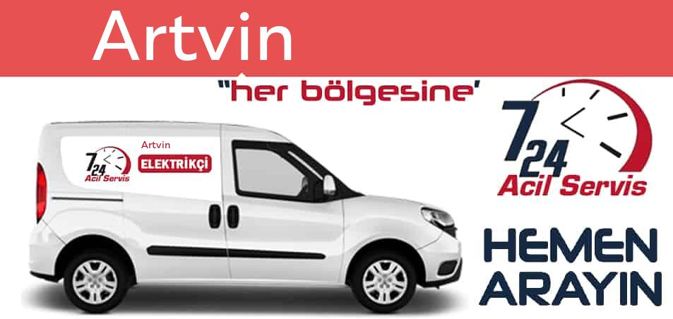 Artvin elektrikçi 7/24 acil elektrikçi hizmetleri sunmaktadır. Artvin'de nöbetçi elektrikçi ve en yakın elektrikçi arıyorsanız arayın ustamız gelsin.