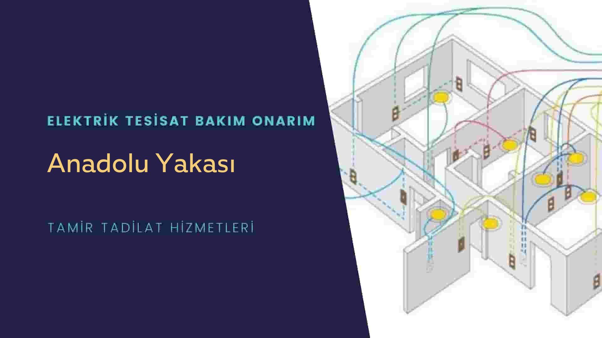 Anadolu Yakası  elektrik tesisatıustalarımı arıyorsunuz doğru adrestenizi Anadolu Yakası elektrik tesisatı ustalarımız 7/24 sizlere hizmet vermekten mutluluk duyar.
