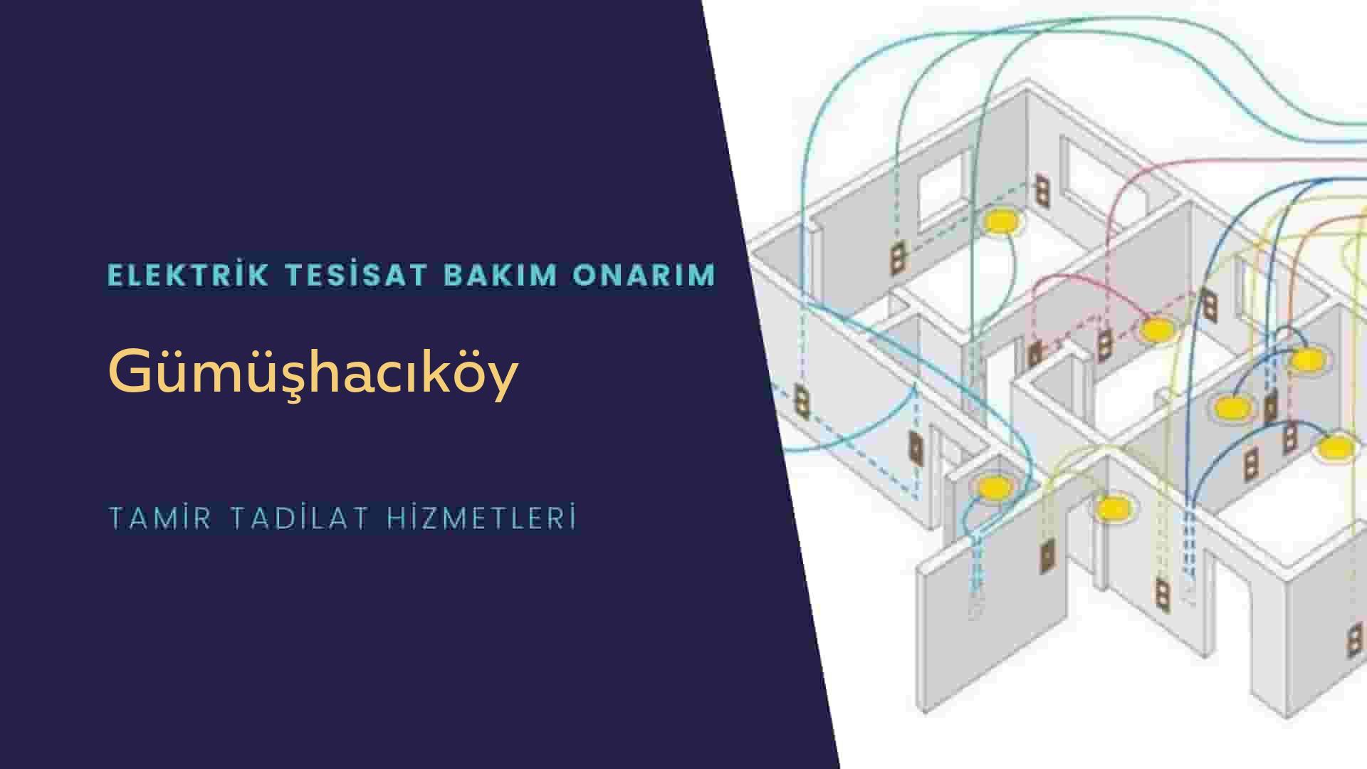 Gümüşhacıköy'de elektrik tesisatıustalarımı arıyorsunuz doğru adrestenizi Gümüşhacıköy elektrik tesisatı ustalarımız 7/24 sizlere hizmet vermekten mutluluk duyar.
