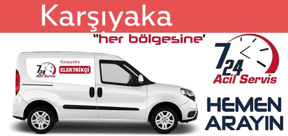 Karşıyaka elektrikçi 7/24 acil elektrikçi hizmetleri sunmaktadır. Karşıyakade nöbetçi elektrikçi ve en yakın elektrikçi arıyorsanız arayın ustamız gelsin.