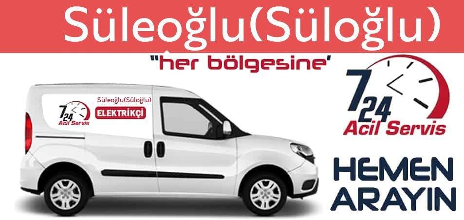 Süleoğlu(Süloğlu) elektrikçi 7/24 acil elektrikçi hizmetleri sunmaktadır. Süleoğlu(Süloğlu)de nöbetçi elektrikçi ve en yakın elektrikçi arıyorsanız arayın ustamız gelsin.