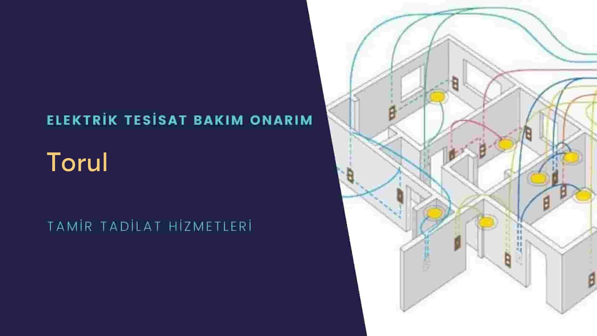 Torul'da elektrik tesisatıustalarımı arıyorsunuz doğru adrestenizi Torul elektrik tesisatı ustalarımız 7/24 sizlere hizmet vermekten mutluluk duyar.