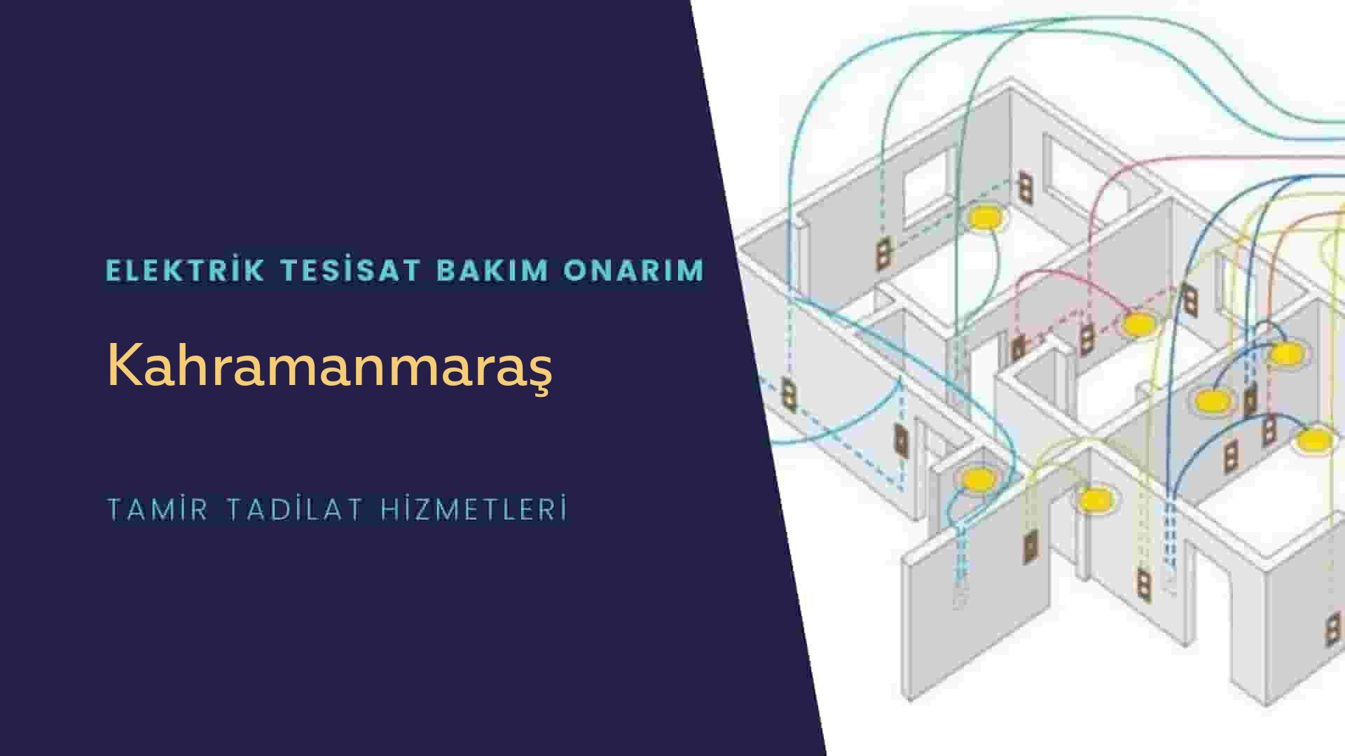 Kahramanmaraş'ta elektrik tesisatıustalarımı arıyorsunuz doğru adrestenizi Kahramanmaraş elektrik tesisatı ustalarımız 7/24 sizlere hizmet vermekten mutluluk duyar.