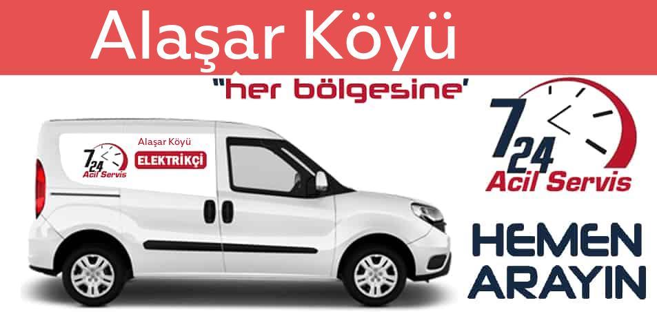 Alaşar Köyü elektrikçi 7/24 acil elektrikçi hizmetleri sunmaktadır. Alaşar Köyüde nöbetçi elektrikçi ve en yakın elektrikçi arıyorsanız arayın ustamız gelsin.