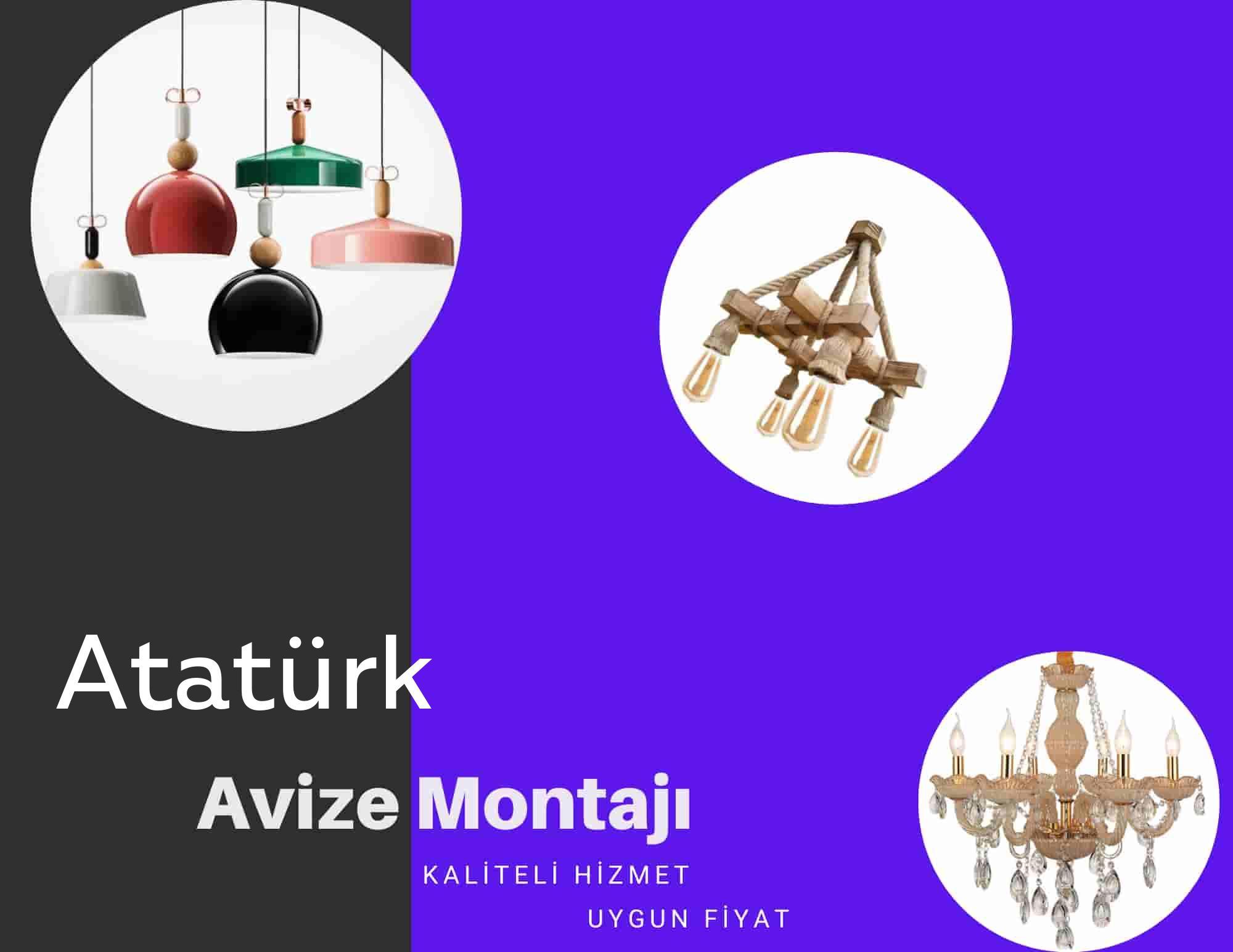 Atatürk de avize montajı yapan yerler arıyorsanız elektrikcicagir anında size profesyonel avize montajı ustasını yönlendirir.