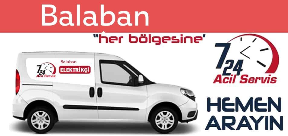 Balaban elektrikçi 7/24 acil elektrikçi hizmetleri sunmaktadır. Balabande nöbetçi elektrikçi ve en yakın elektrikçi arıyorsanız arayın ustamız gelsin.