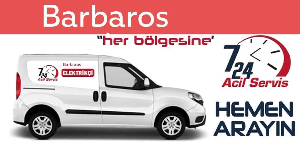 Barbaros  elektrikçi 7/24 acil elektrikçi hizmetleri sunmaktadır. Barbaros de nöbetçi elektrikçi ve en yakın elektrikçi arıyorsanız arayın ustamız gelsin.