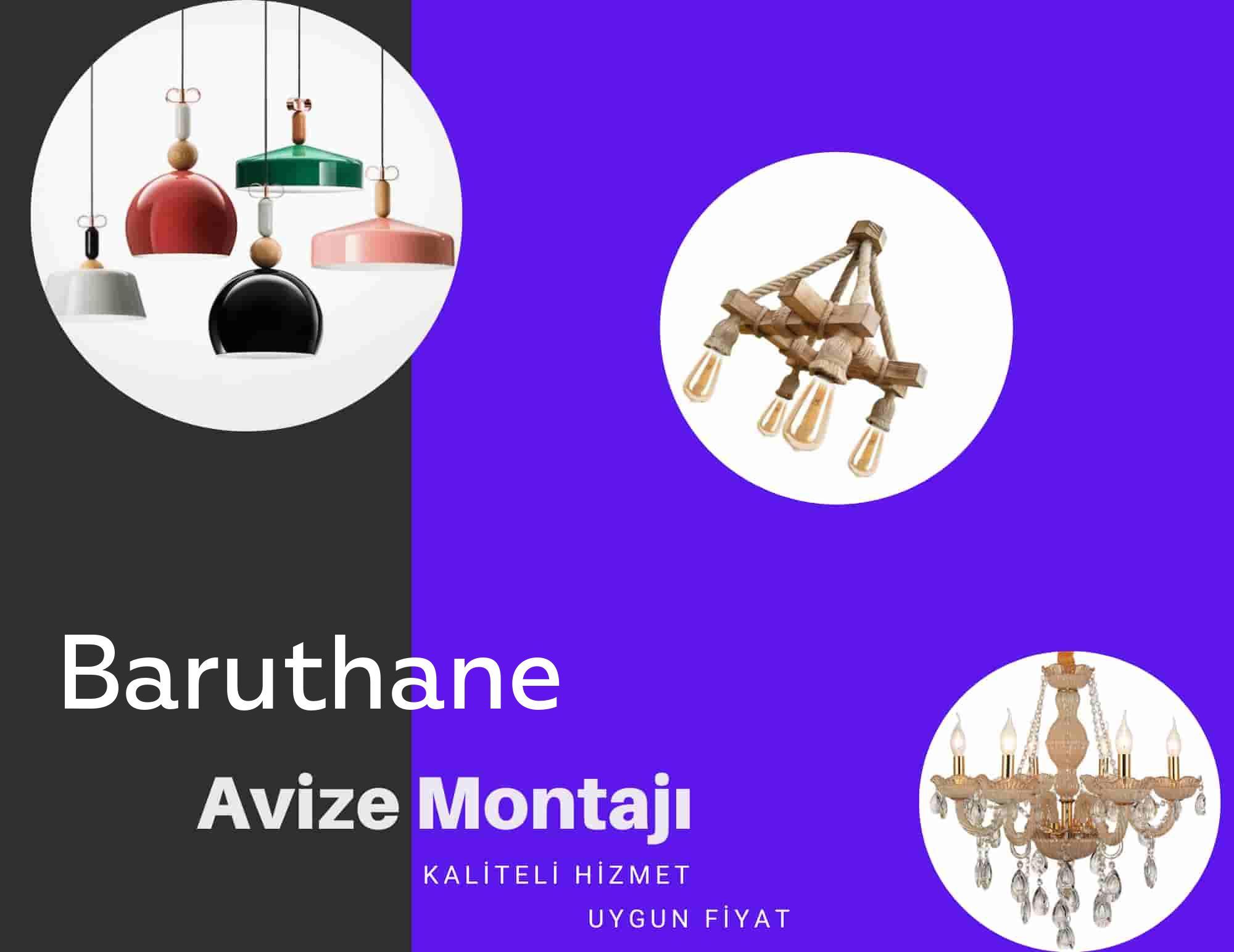 Baruthane de avize montajı yapan yerler arıyorsanız elektrikcicagir anında size profesyonel avize montajı ustasını yönlendirir.