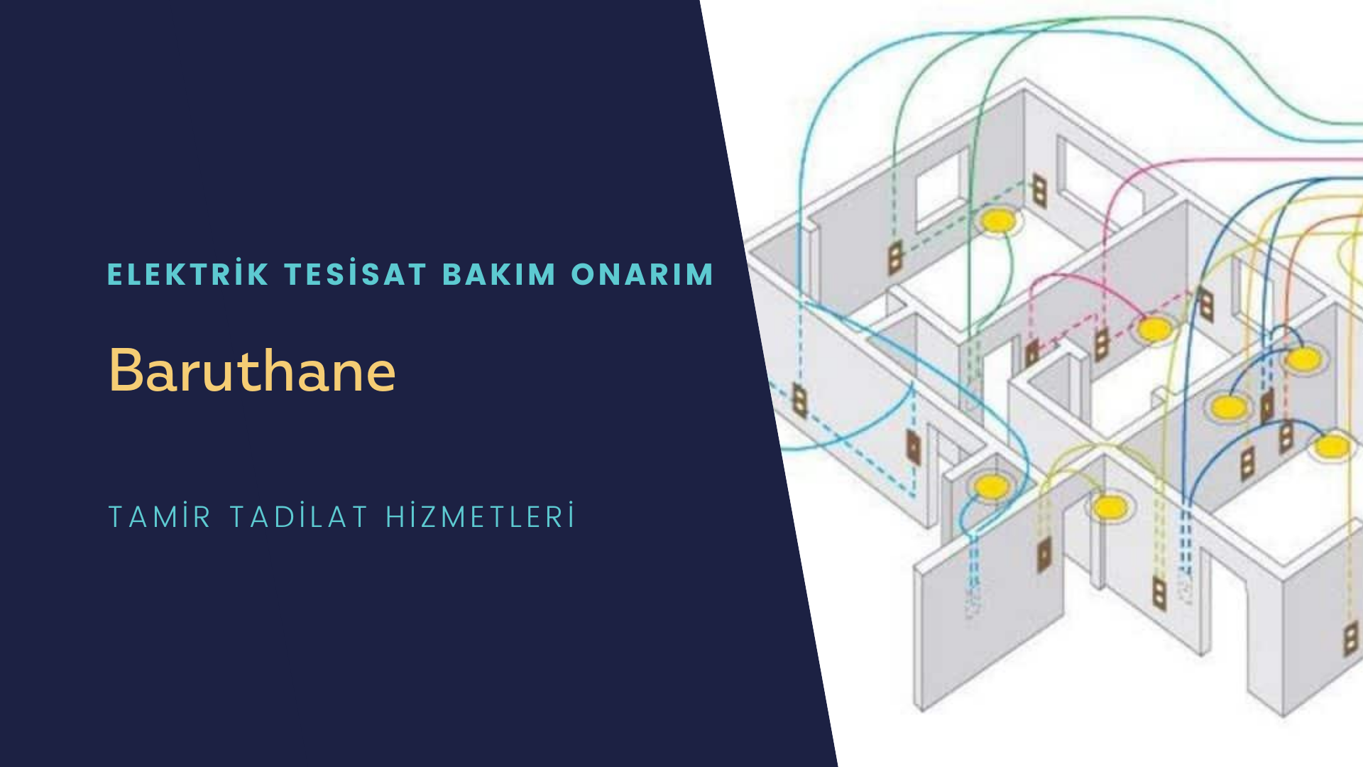 Baruthane   elektrik tesisatıustalarımı arıyorsunuz doğru adrestenizi Baruthane  elektrik tesisatı ustalarımız 7/24 sizlere hizmet vermekten mutluluk duyar.
