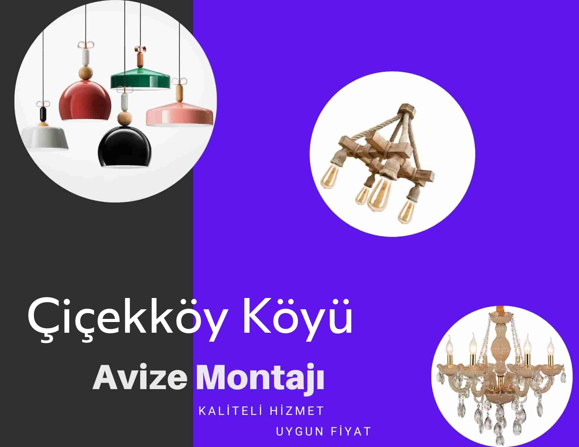 Çiçekköy Köyüde avize montajı yapan yerler arıyorsanız elektrikcicagir anında size profesyonel avize montajı ustasını yönlendirir.