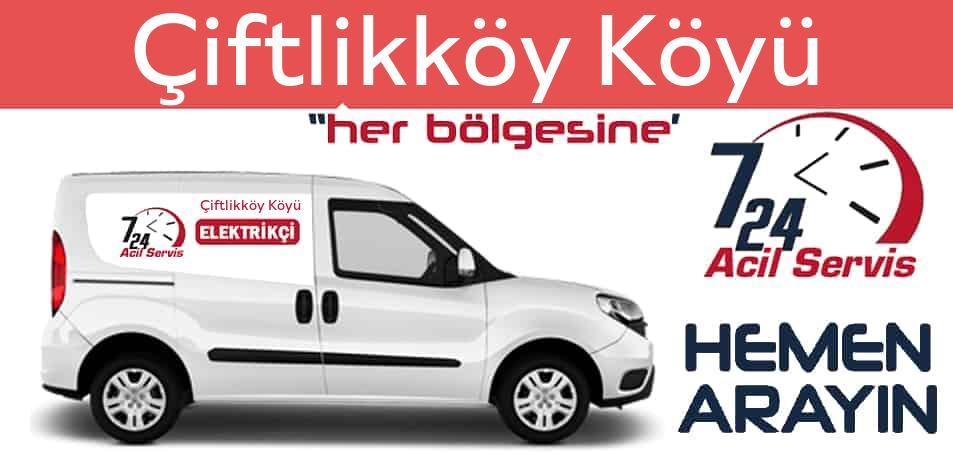 Çiftlikköy Köyü elektrikçi 7/24 acil elektrikçi hizmetleri sunmaktadır. Çiftlikköy Köyüde nöbetçi elektrikçi ve en yakın elektrikçi arıyorsanız arayın ustamız gelsin.