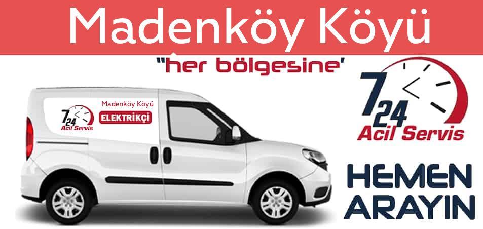 Madenköy Köyü elektrikçi 7/24 acil elektrikçi hizmetleri sunmaktadır. Madenköy Köyüde nöbetçi elektrikçi ve en yakın elektrikçi arıyorsanız arayın ustamız gelsin.