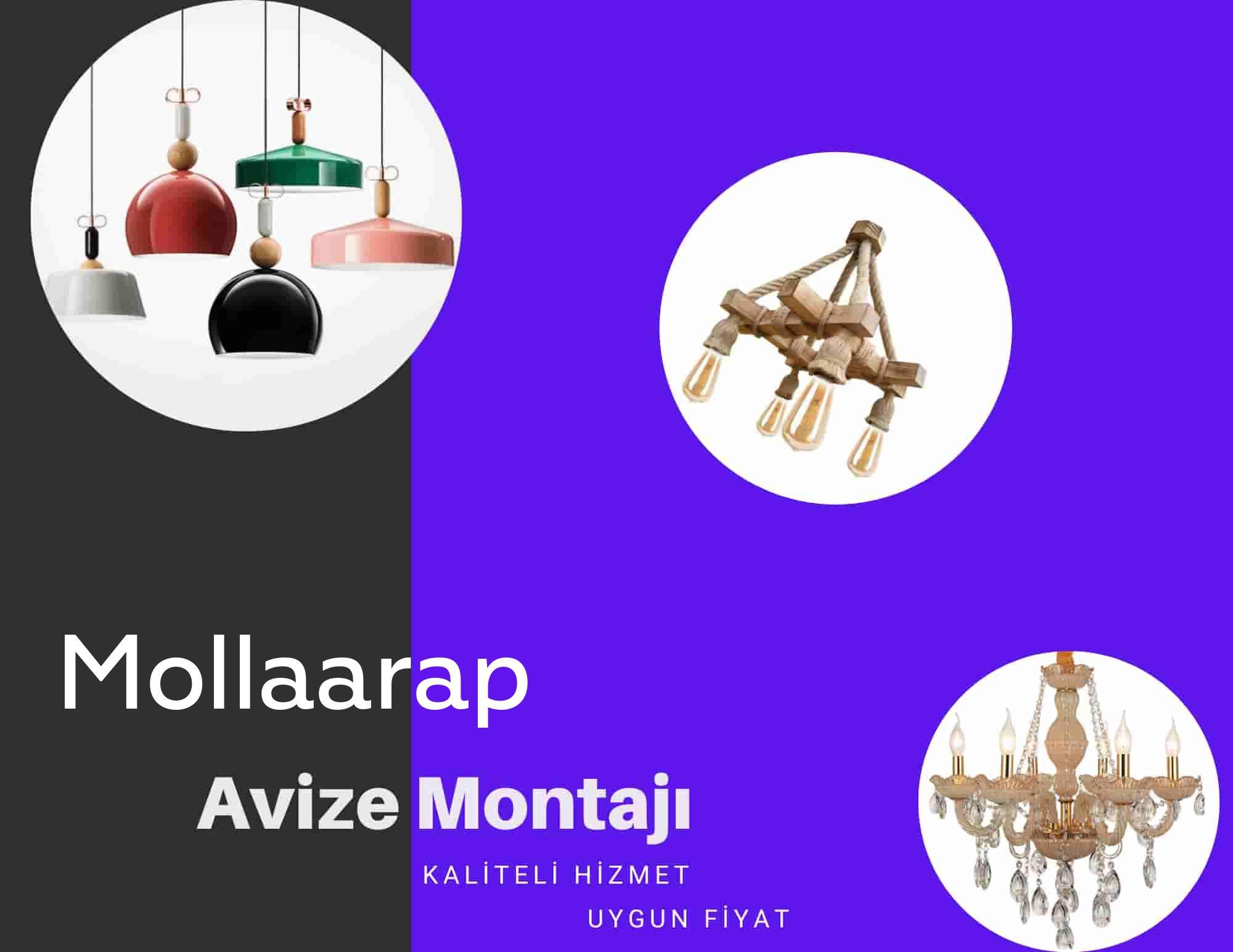 Mollaarap de avize montajı yapan yerler arıyorsanız elektrikcicagir anında size profesyonel avize montajı ustasını yönlendirir.