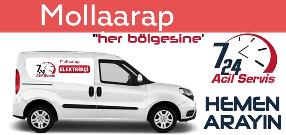 Mollaarap  elektrikçi 7/24 acil elektrikçi hizmetleri sunmaktadır. Mollaarap de nöbetçi elektrikçi ve en yakın elektrikçi arıyorsanız arayın ustamız gelsin.