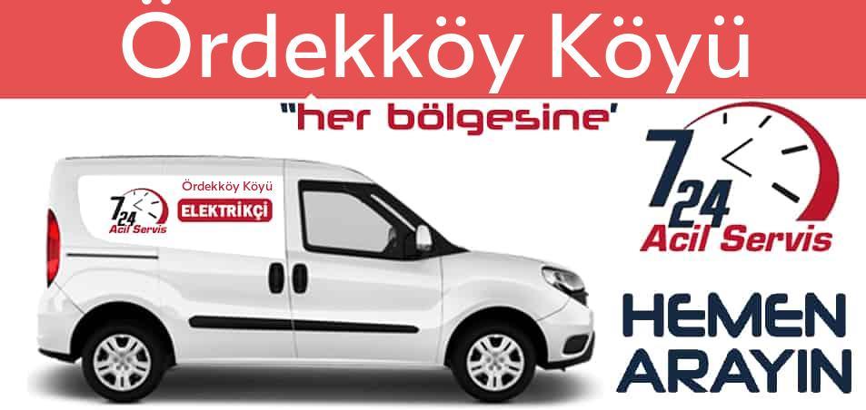 Ördekköy Köyü elektrikçi 7/24 acil elektrikçi hizmetleri sunmaktadır. Ördekköy Köyüde nöbetçi elektrikçi ve en yakın elektrikçi arıyorsanız arayın ustamız gelsin.
