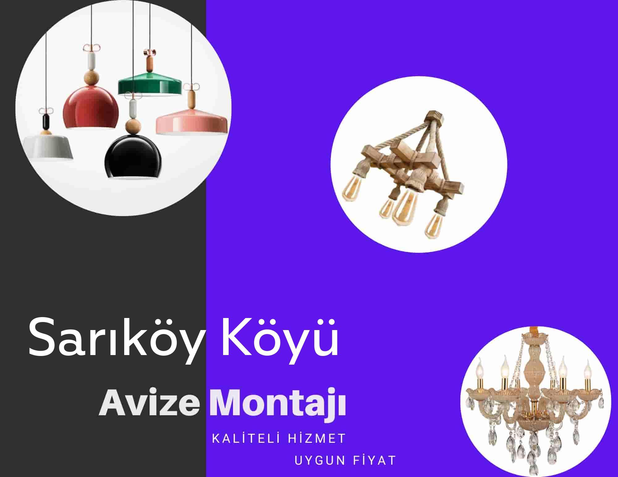 Sarıköy Köyüde avize montajı yapan yerler arıyorsanız elektrikcicagir anında size profesyonel avize montajı ustasını yönlendirir.