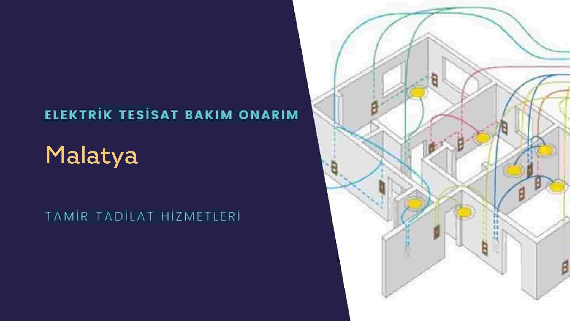 Malatya'da elektrik tesisatıustalarımı arıyorsunuz doğru adrestenizi Malatya elektrik tesisatı ustalarımız 7/24 sizlere hizmet vermekten mutluluk duyar.