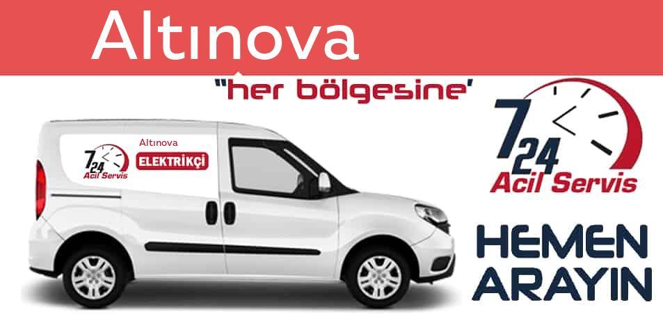 Altınova elektrikçi 7/24 acil elektrikçi hizmetleri sunmaktadır. Altınovade nöbetçi elektrikçi ve en yakın elektrikçi arıyorsanız arayın ustamız gelsin.