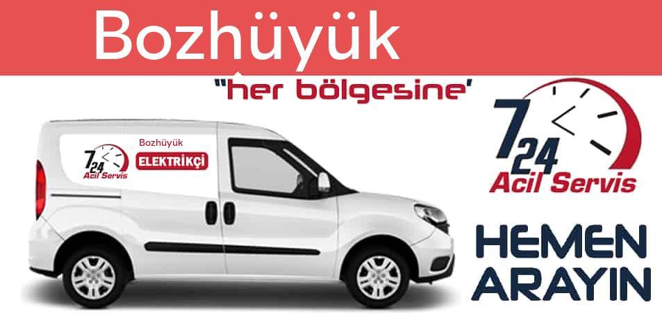 Bozhüyük elektrikçi 7/24 acil elektrikçi hizmetleri sunmaktadır. Bozhüyükde nöbetçi elektrikçi ve en yakın elektrikçi arıyorsanız arayın ustamız gelsin.