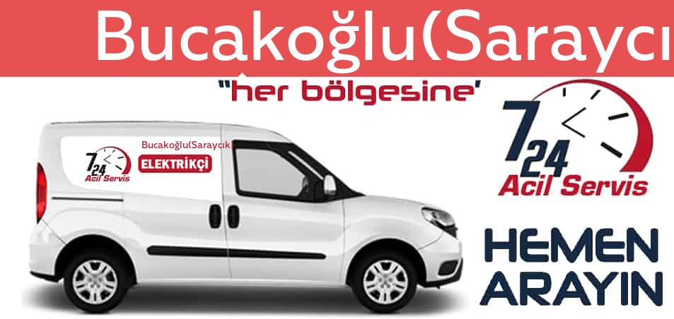 Bucakoğlu(Saraycık) elektrikçi 7/24 acil elektrikçi hizmetleri sunmaktadır. Bucakoğlu(Saraycık)de nöbetçi elektrikçi ve en yakın elektrikçi arıyorsanız arayın ustamız gelsin.