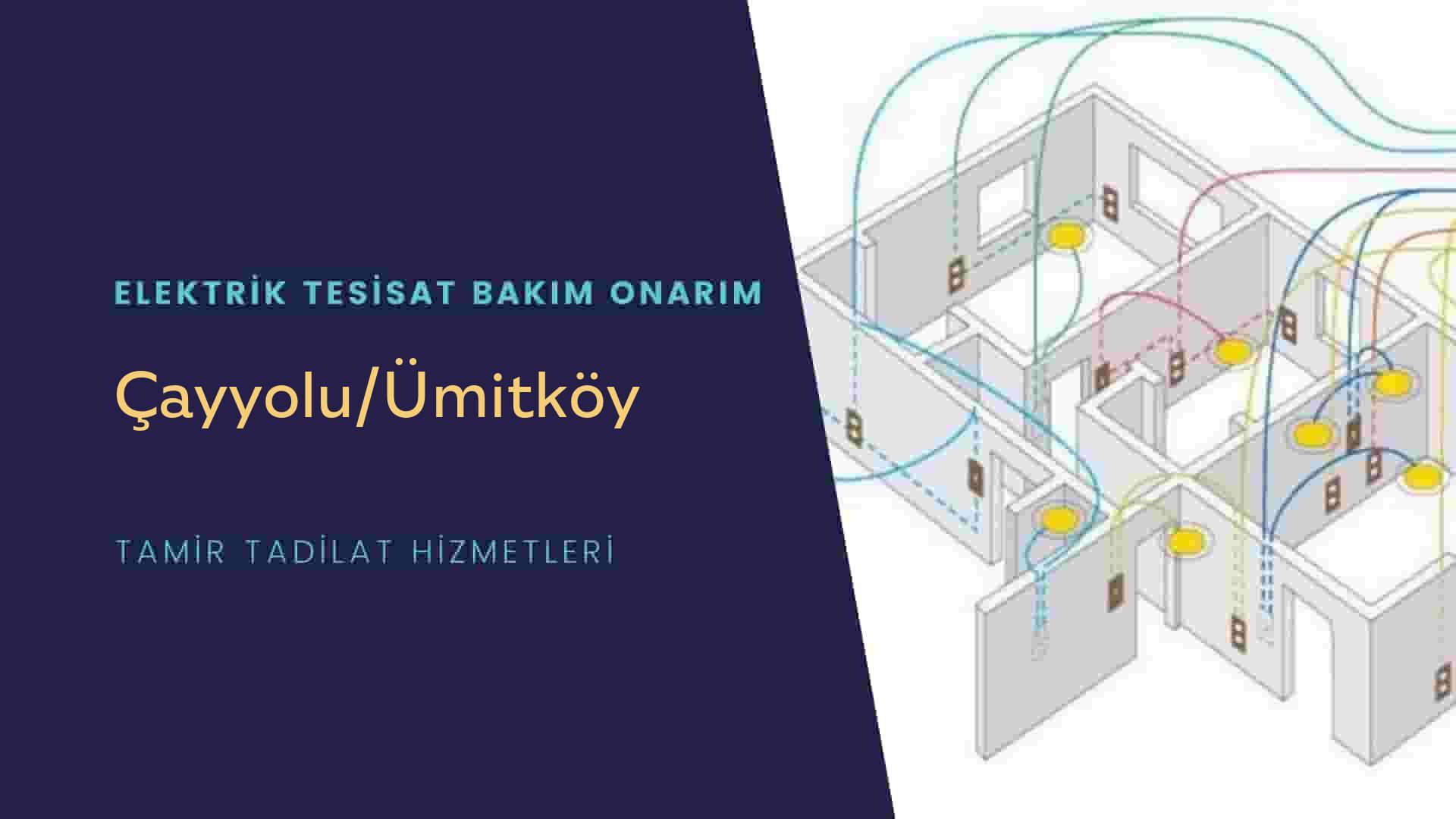 Çayyolu/Ümitköy'de elektrik tesisatıustalarımı arıyorsunuz doğru adrestenizi Çayyolu/Ümitköy elektrik tesisatı ustalarımız 7/24 sizlere hizmet vermekten mutluluk duyar.