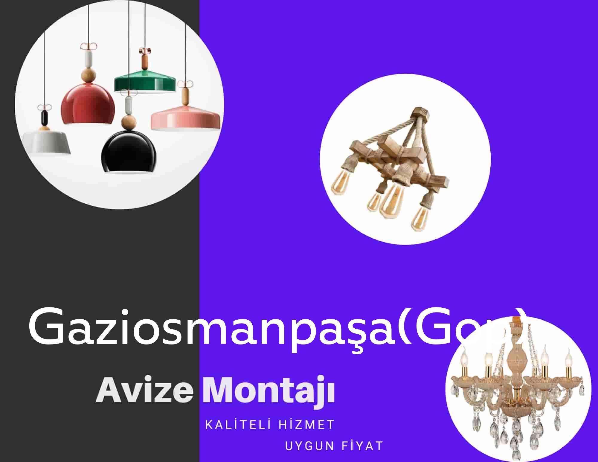 Gaziosmanpaşa(Gop)de avize montajı yapan yerler arıyorsanız elektrikcicagir anında size profesyonel avize montajı ustasını yönlendirir.