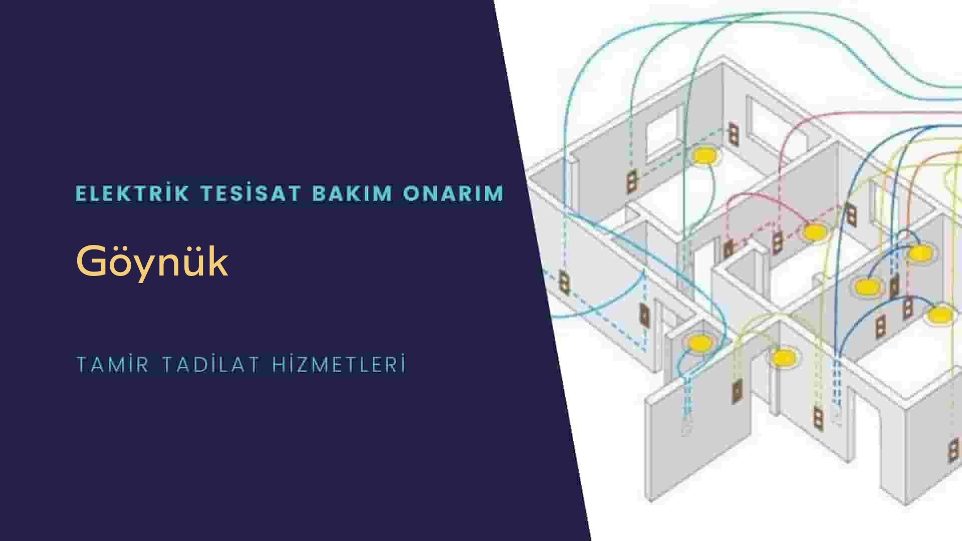 Göynük'te elektrik tesisatıustalarımı arıyorsunuz doğru adrestenizi Göynük elektrik tesisatı ustalarımız 7/24 sizlere hizmet vermekten mutluluk duyar.