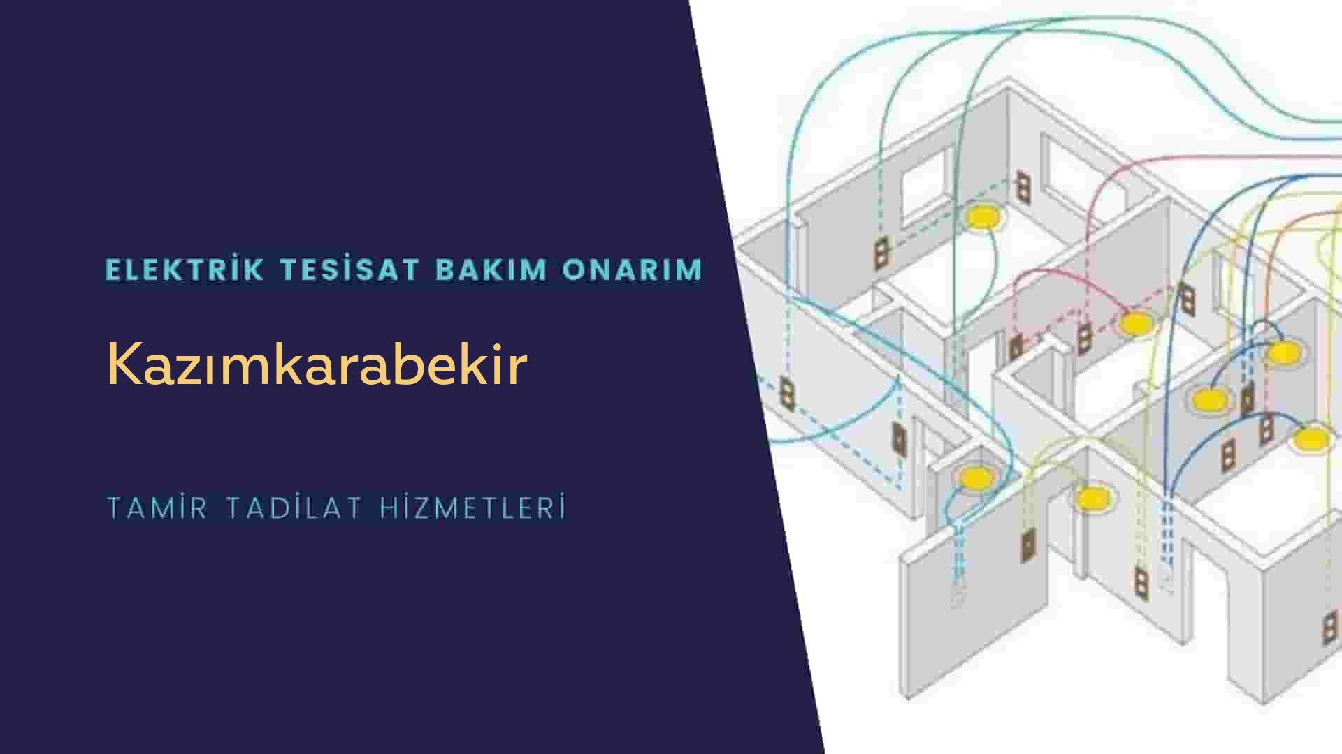 Kazımkarabekir'de elektrik tesisatıustalarımı arıyorsunuz doğru adrestenizi Kazımkarabekir elektrik tesisatı ustalarımız 7/24 sizlere hizmet vermekten mutluluk duyar.