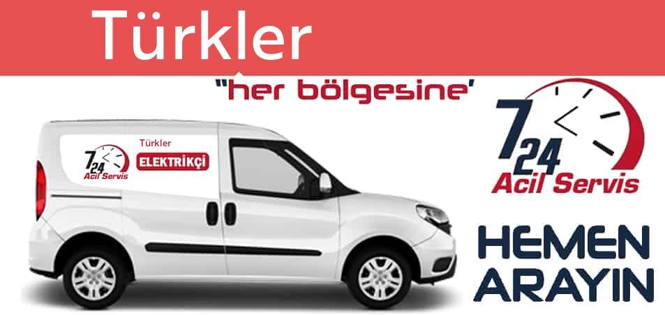 Türkler elektrikçi 7/24 acil elektrikçi hizmetleri sunmaktadır. Türklerde nöbetçi elektrikçi ve en yakın elektrikçi arıyorsanız arayın ustamız gelsin.